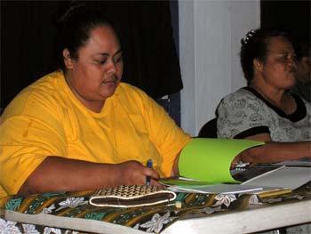 Edna Hala RN from American Samoa